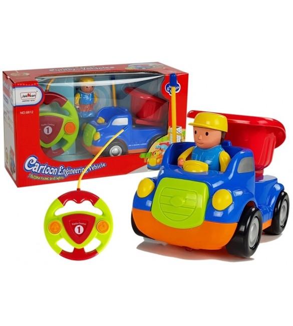 Bērnu automašīna ar pulti 87358