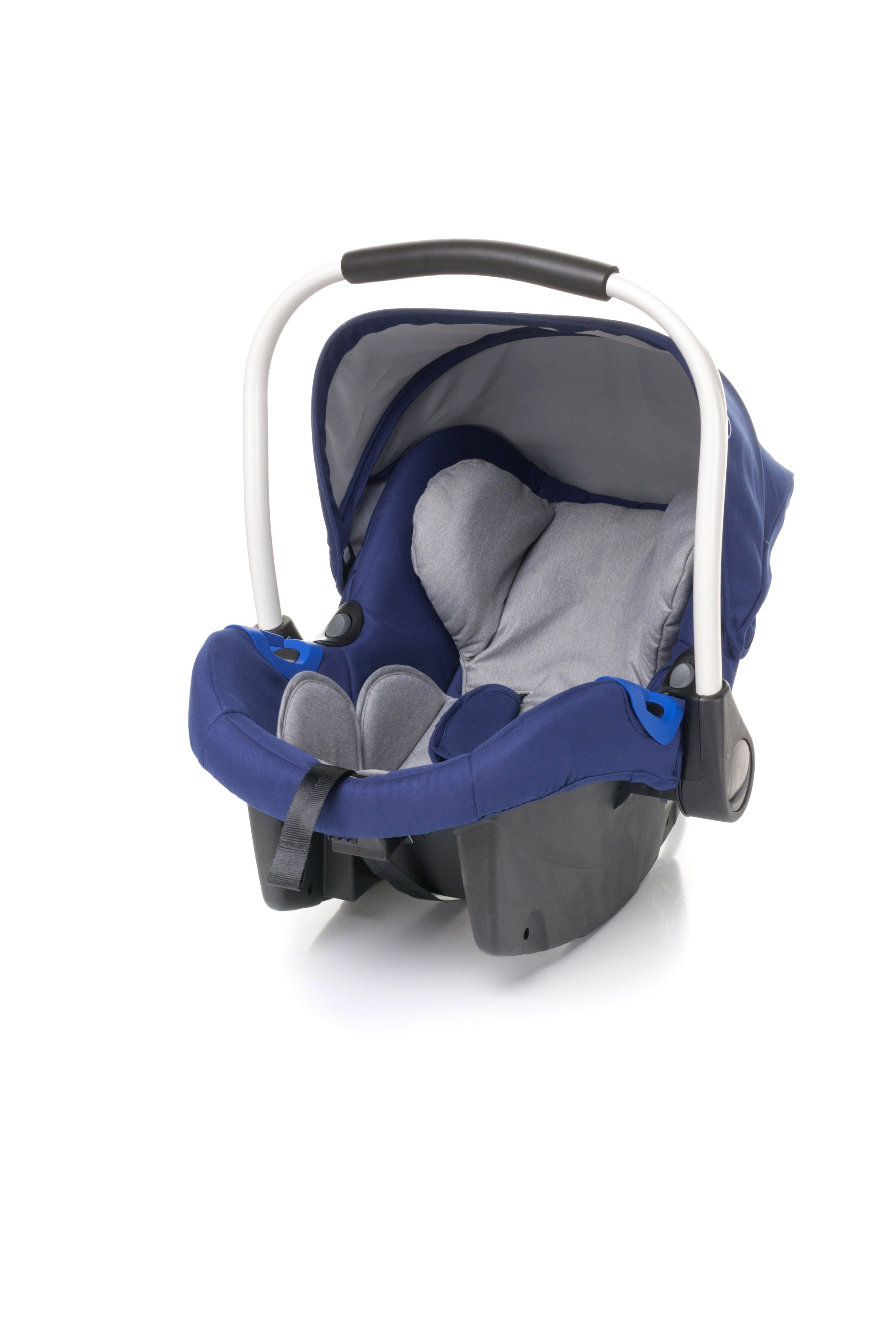 Bērnu autosēdeklis 0-13 kg 4BABY GALAX navy blue