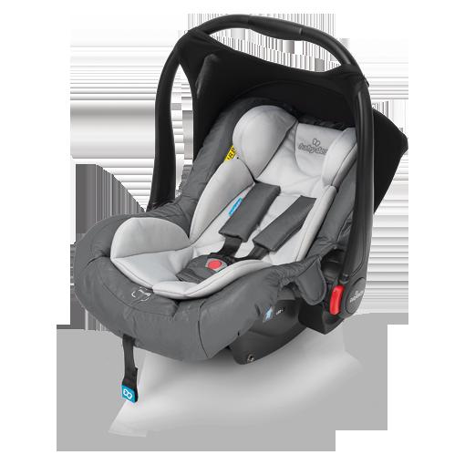 Bērnu autosēdeklis 0-13 kg Baby Design LEO 07/graphite FB-802