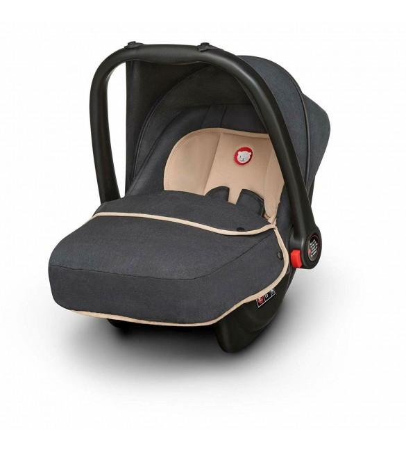 Bērnu autosēdeklis 0-13 kg Lionelo NOA PLUS sand