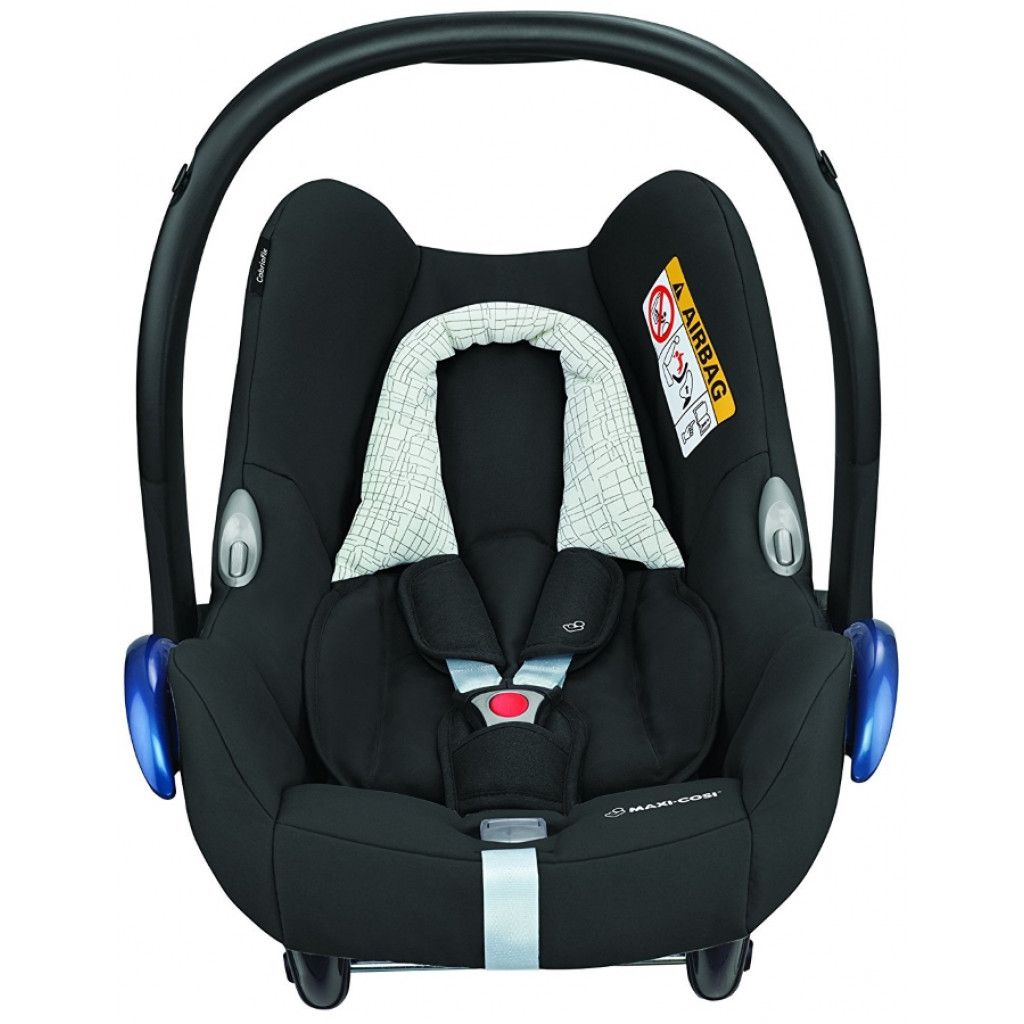 MAXI COSI CABRIOFIX Black Grid Bērnu autosēdeklis 0-13 kg