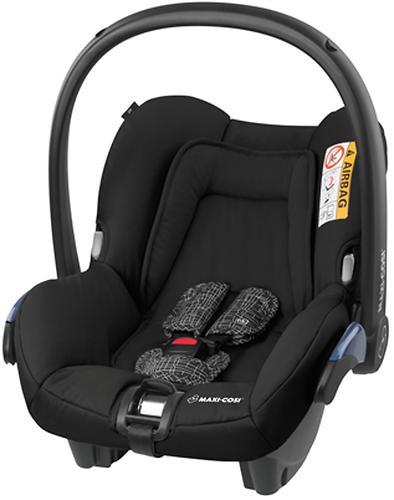 MAXI-COSI Citi Black Grid Bērnu autosēdeklis 0-13 kg