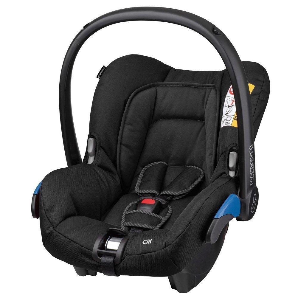 MAXI-COSI Citi Black Raven Bērnu autosēdeklis 0-13 kg