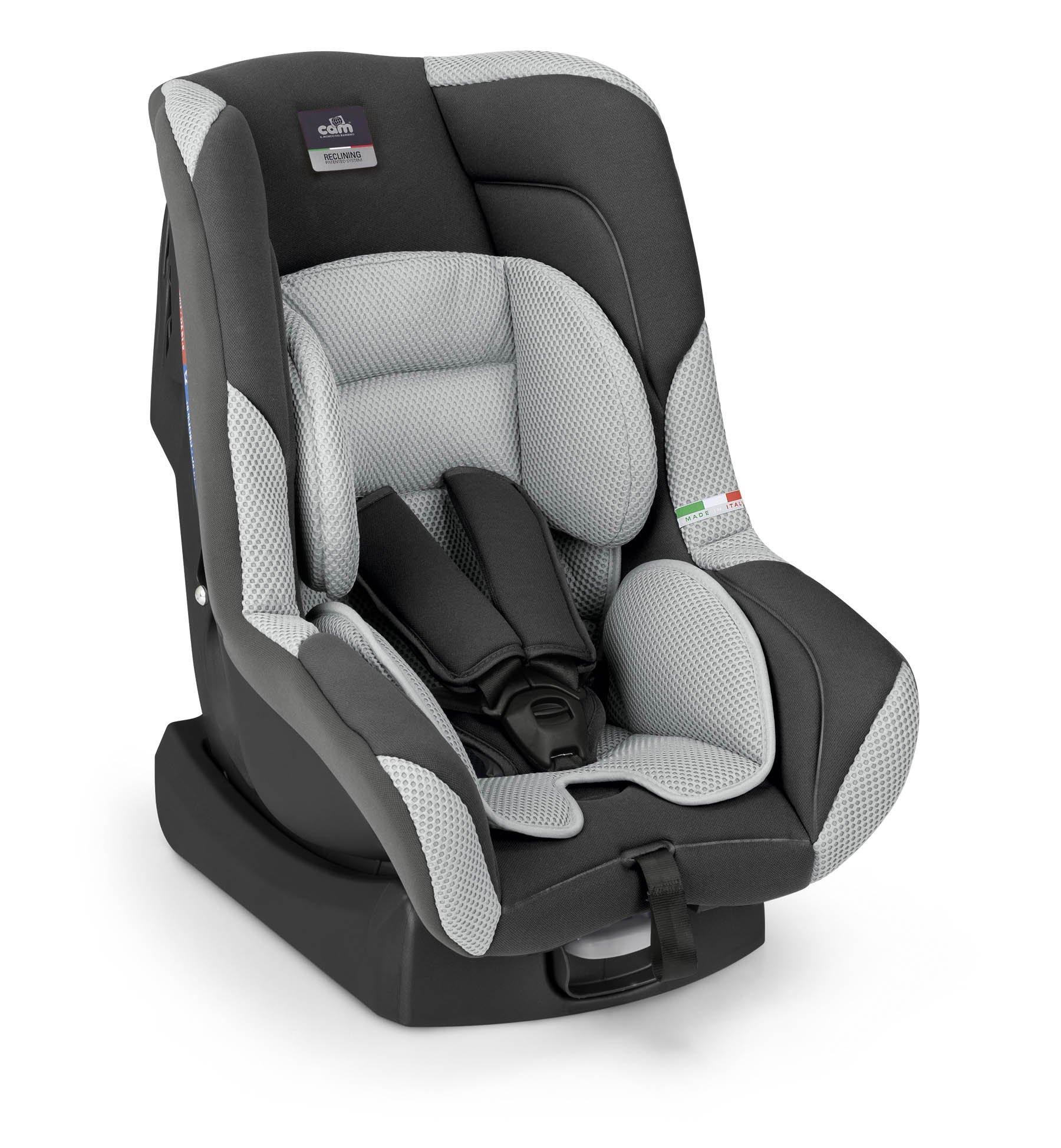 Bērnu autosēdeklis 0-18 kg ar dubulto slīpuma regulēšanu CAM GARA col.213
