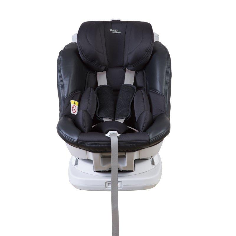 Bērnu autosēdeklis 0-18 kg CHILDHOME Isomax 360° Isofix black