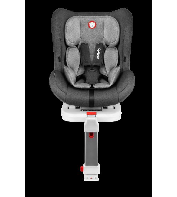 Bērnu autosēdeklis 0-18 kg Lionelo LENNART stone grey Isofix