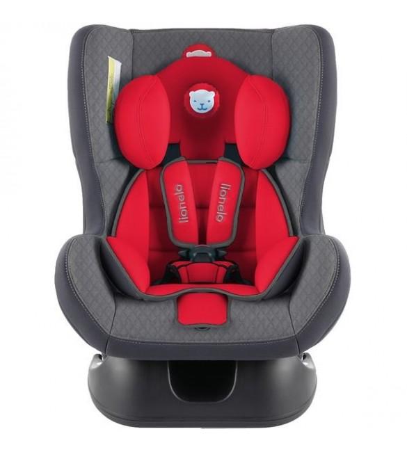 Bērnu autosēdeklis 0-18 kg Lionelo LIAM PLUS carmine red