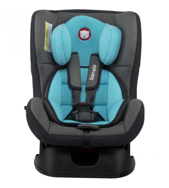 Bērnu autosēdeklis 0-18 kg Lionelo LIAM turquoise sky