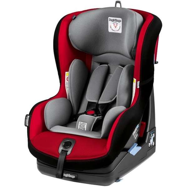 Bērnu autosēdeklis 0-18 kg PEG-PEREGO Viaggio 0+1 Switchable Rouge IMVG010035DX13DX79