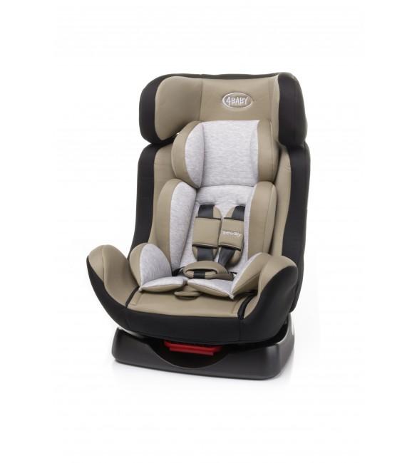 Bērnu autosēdeklis 0-25 kg 4BABY FREEWAY beige