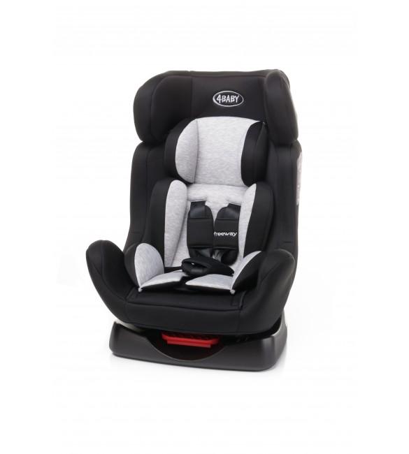 Bērnu autosēdeklis 0-25 kg 4BABY FREEWAY black