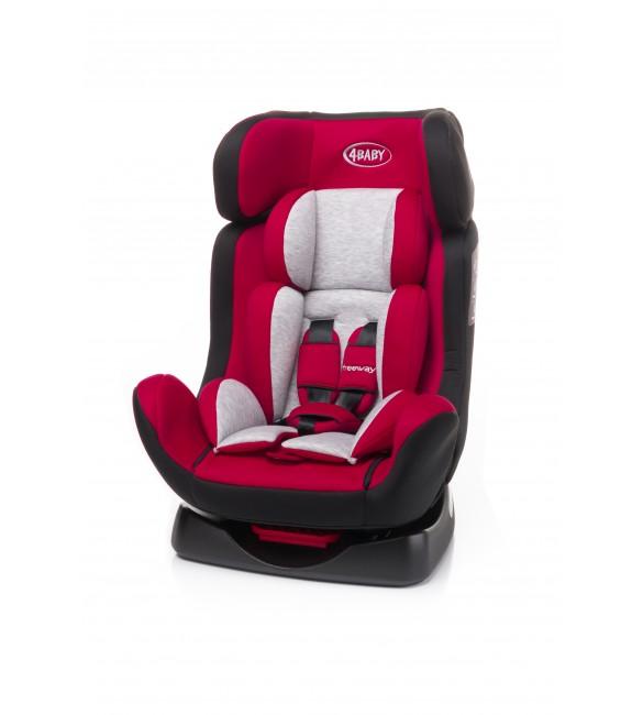 Bērnu autosēdeklis 0-25 kg 4BABY FREEWAY red