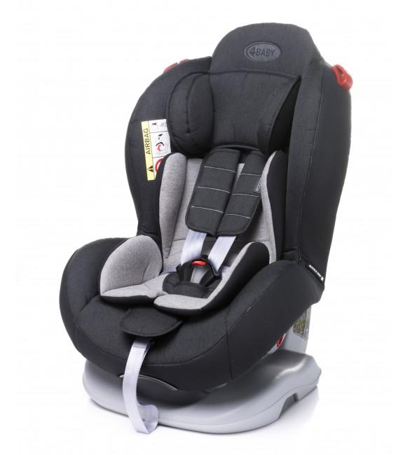 Bērnu autosēdeklis 0-25 kg 4BABY RODOS black