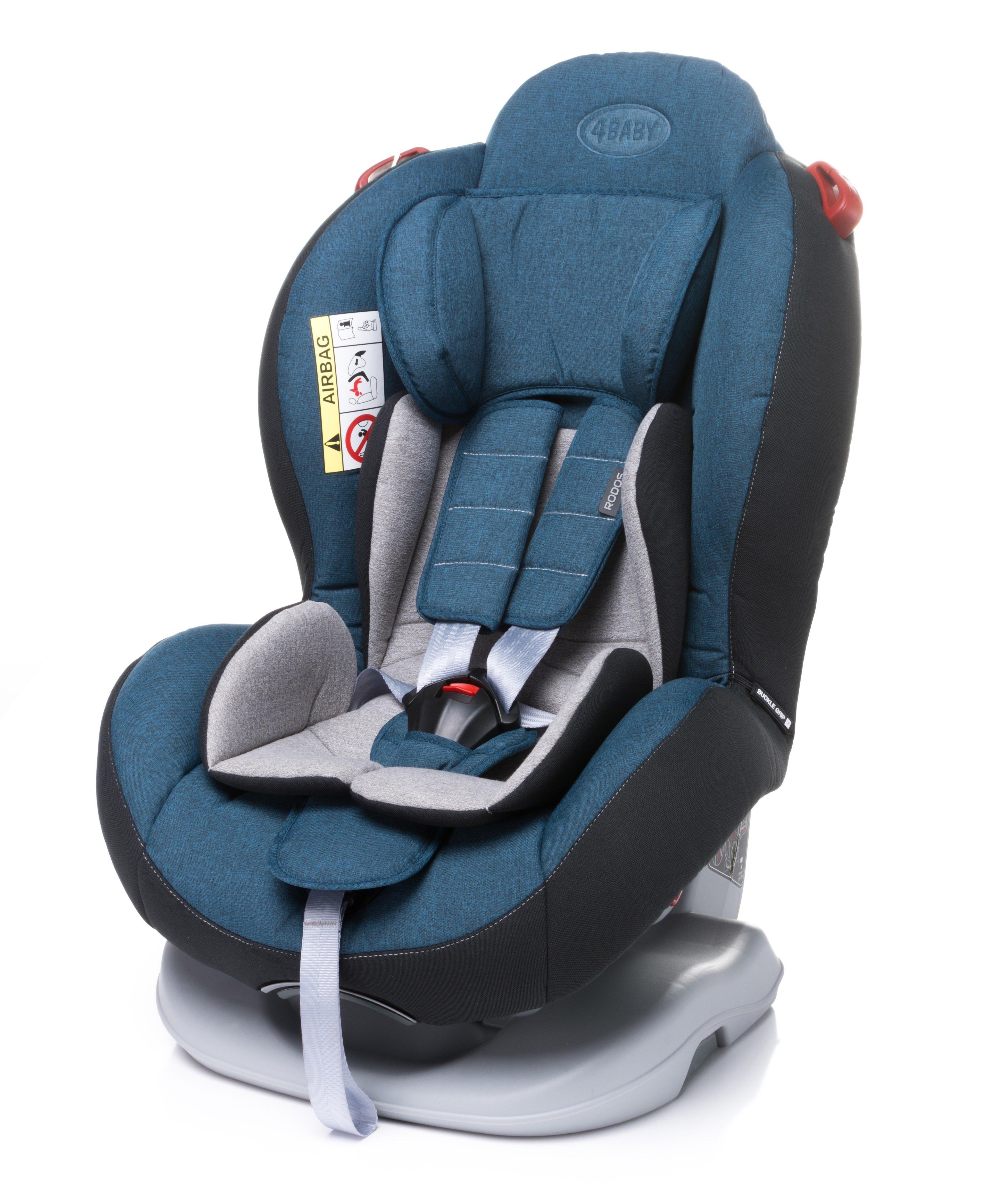 Bērnu autosēdeklis 0-25 kg 4BABY RODOS navy blue