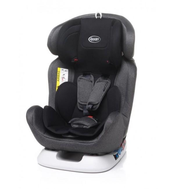 Bērnu autosēdeklis 0-36 kg 4BABY CAPTIVA grey [N119]