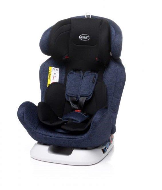 Bērnu autosēdeklis 0-36 kg 4BABY CAPTIVA navy blue [N119]
