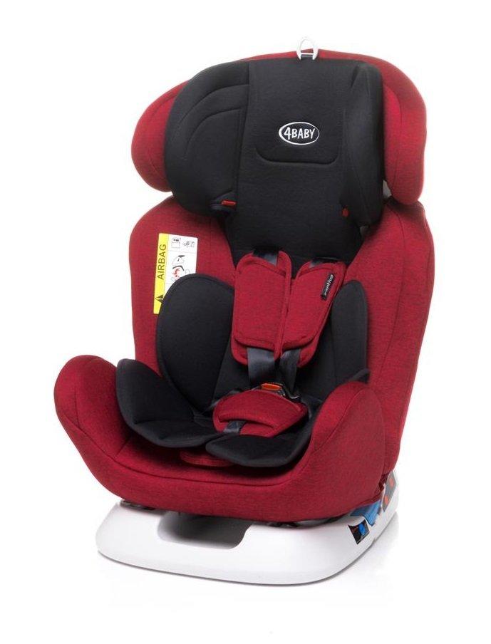 Bērnu autosēdeklis 0-36 kg 4BABY CAPTIVA red [N119]