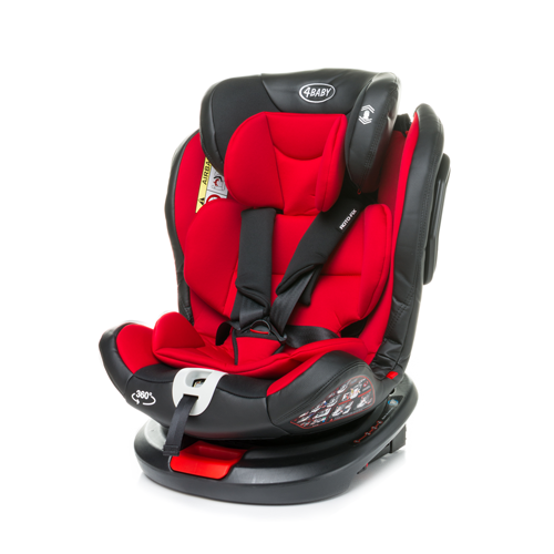 Bērnu autosēdeklis 0-36 kg 4BABY ROTO-FIX red Isofix