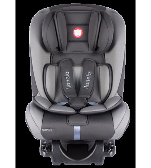 Bērnu autosēdeklis 0-36 kg Lionelo SANDER grey ISOFIX