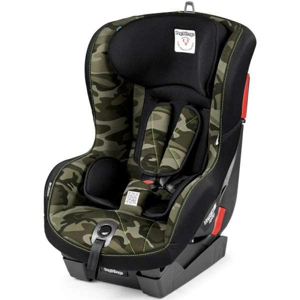 Bērnu autosēdeklis 9-18 kg PEG-PEREGO Viaggio 1 Duo-Fix Camo green IMDA020035MC44DX13