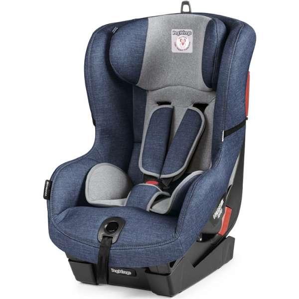 Bērnu autosēdeklis 9-18 kg PEG-PEREGO Viaggio 1 Duo-Fix Urban denim IMDA020035TS41TX73