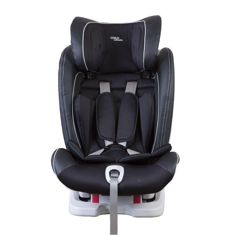 Bērnu autosēdeklis 9-36 kg CHILDHOME ISOFIX Isokid Carseat black GR 1/2/3