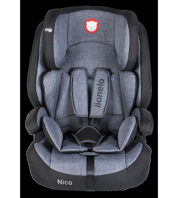 Bērnu autosēdeklis 9-36 kg Lionelo NICO black
