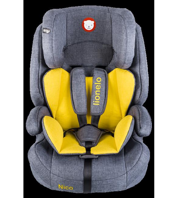 Bērnu Autosēdeklis 9-36 kg Lionelo NICO yellow