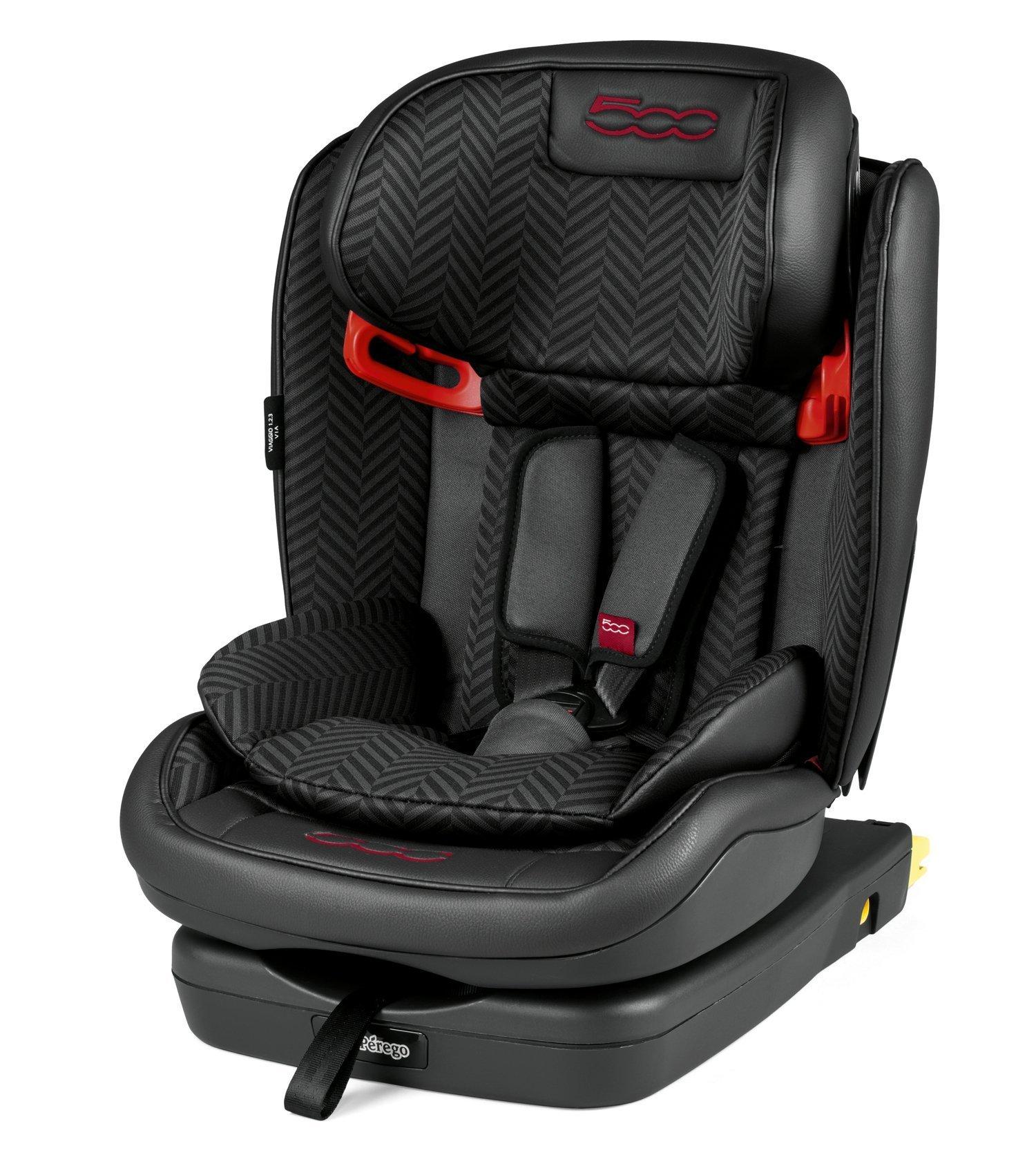 Bērnu autosēdeklis 9-36 kg PEG-PEREGO Viaggio 1-2-3 Via Fiat 500 IMVA000035CV13CY13