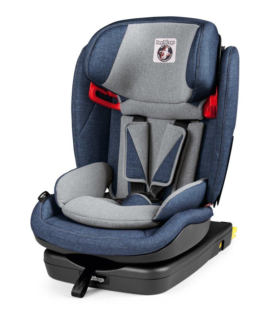Bērnu autosēdeklis 9-36 kg PEG-PEREGO Viaggio 1-2-3 Via Urban Denim IMVA000035TS41TX73
