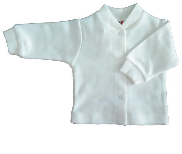 Bērnu balta jaciņa ar spiedpogām MARGO 16010