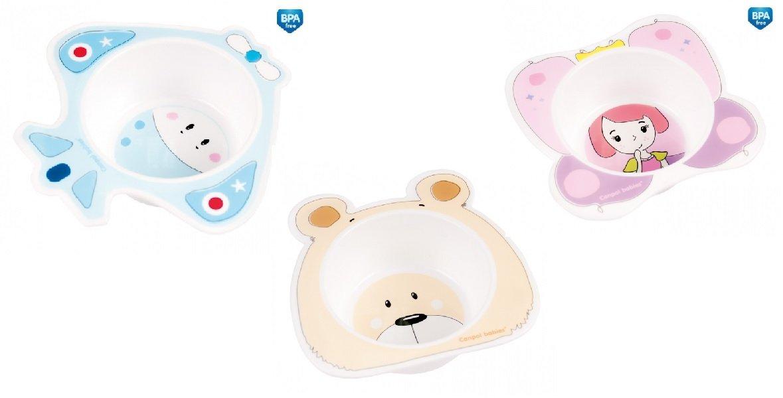 Bērnu bļoda Princess/Plane/Bear Canpol 009
