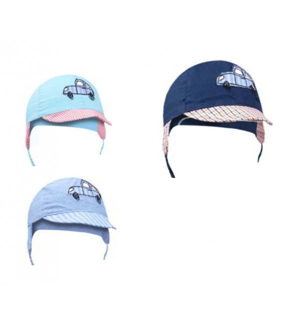 Bērnu cepure ar nagu un austiņām YOclub FAST CAR CLU-072