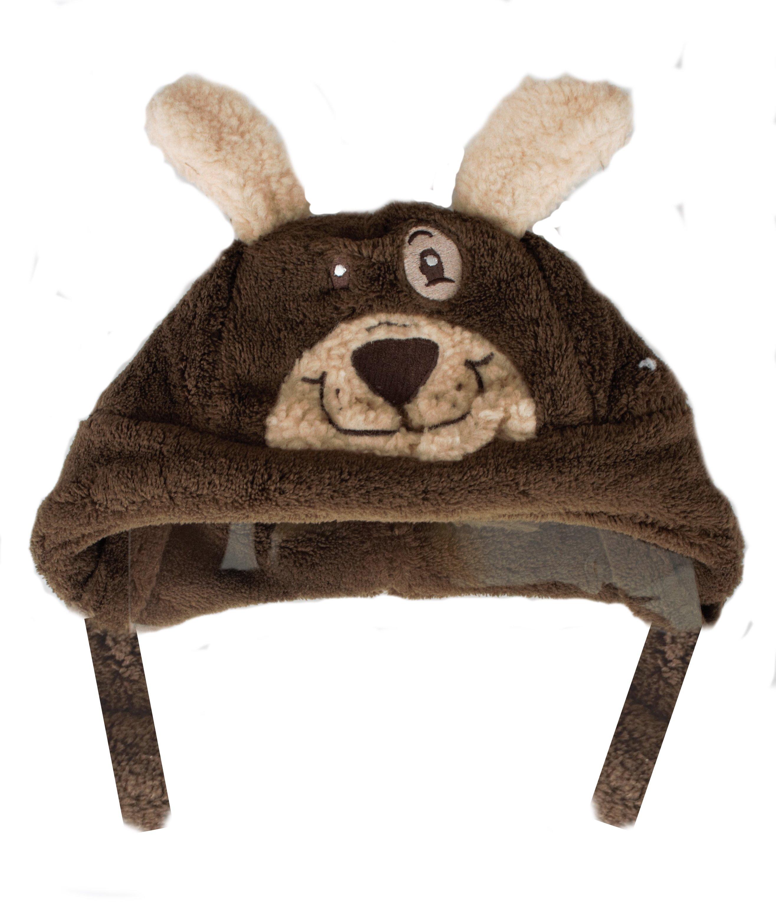 Bērnu cepure Bobobaby Brown dog CZ-06
