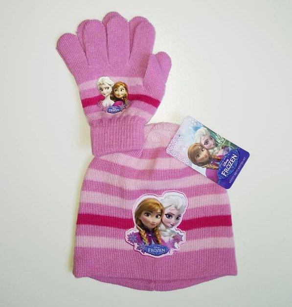 Bērnu cepure un cimdiņi komplekts Disney Frozen 01518T01