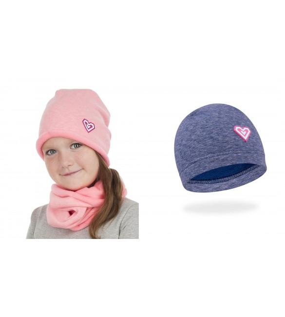 Bērnu cepure YO Little Heart SCO-CDA597