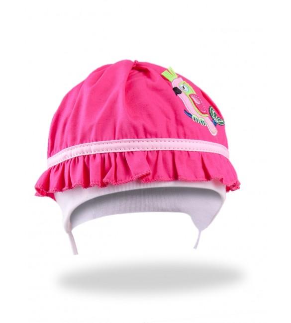 Bērnu cepure YOclub PINK PARROT CLU-067