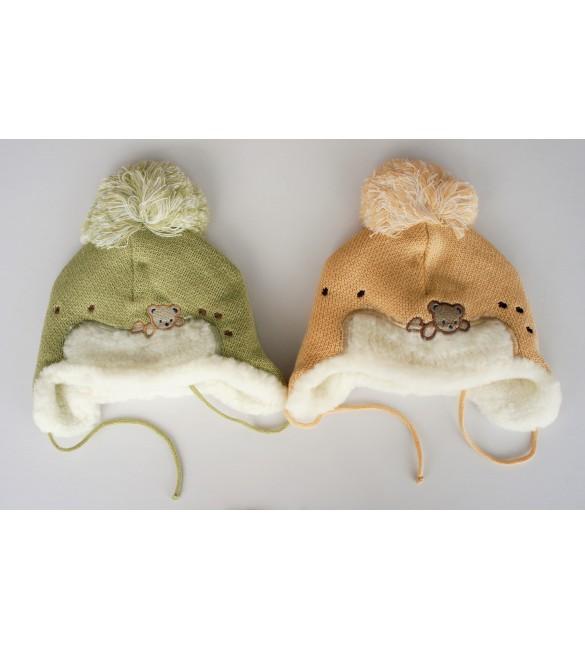 Bērnu cepure ziemas BEAR ForYou 6286