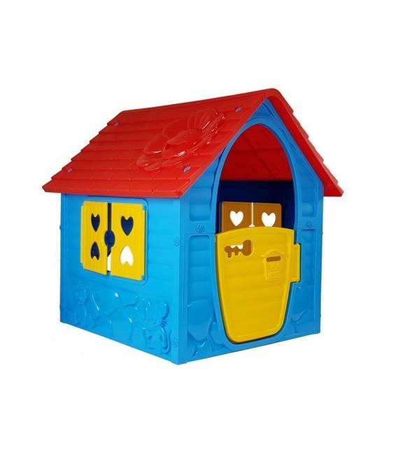 Bērnu dārza mājiņa 90cm x 98cm x 106cm 8554 14828