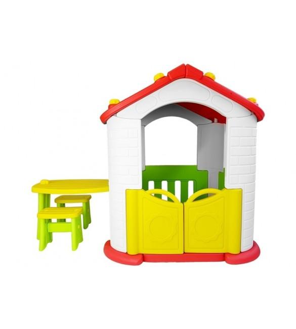 Bērnu dārza mājiņa ar mēbelēm 5515