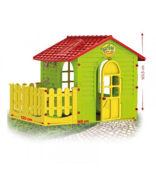 Bērnu dārza mājiņa Mochtoys 1,69x1,2x1,2 cm 10839