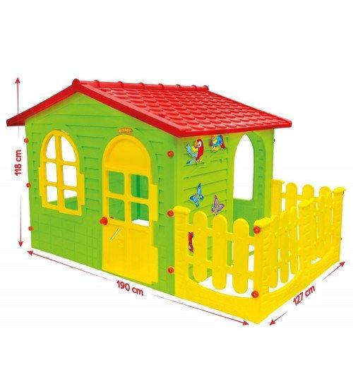 Bērnu dārza mājiņa Mochtoys 1,9x1,27x1,18 cm 10498