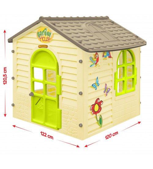 Bērnu dārza mājiņa Mochtoys 1.22x1.2x1.2 cm 11558