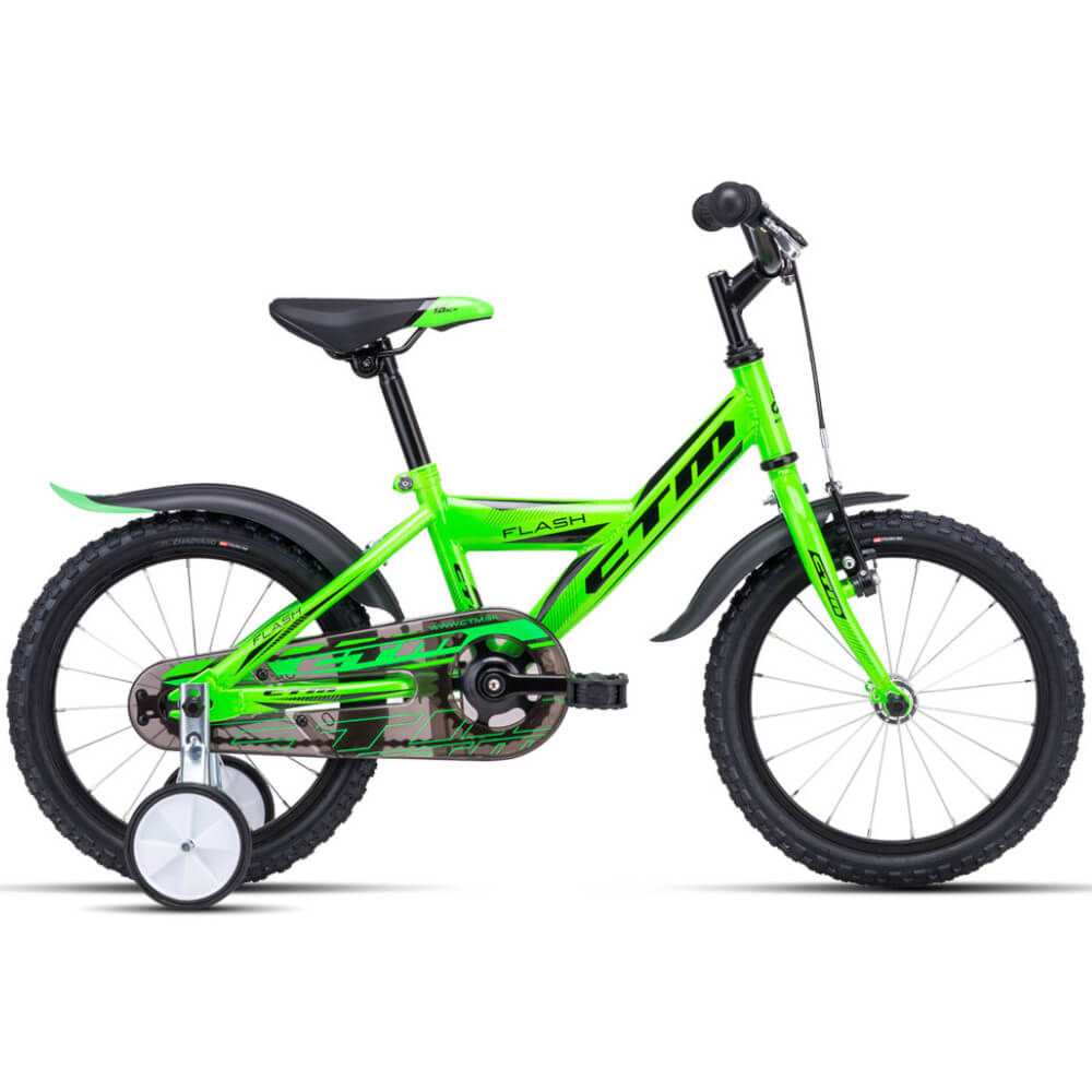 Bērnu divritenis velosipēds CTM Flash 16 collas 42.008