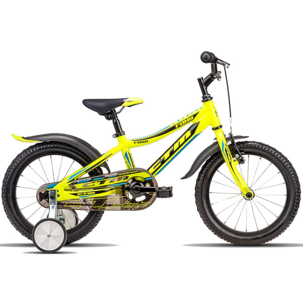 Bērnu divritenis velosipēds CTM Foxy 16 collas 42.011