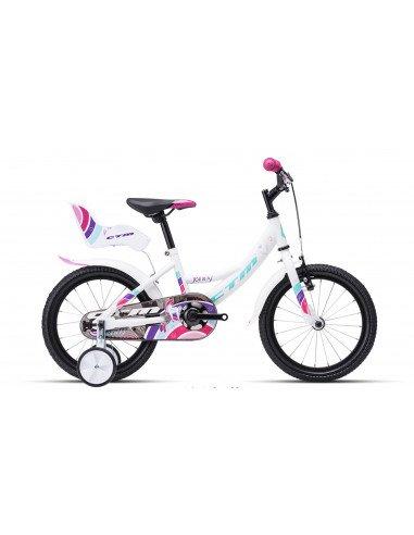 Bērnu divritenis velosipēds CTM Jenny Kids 16 collas 44.008