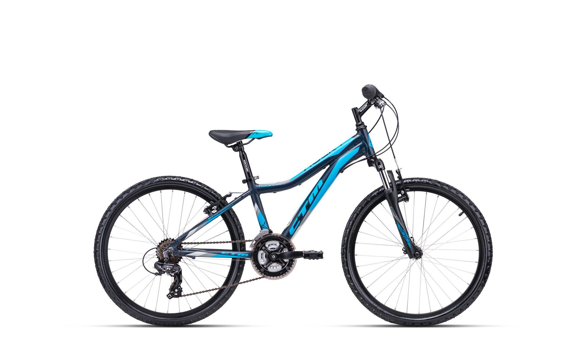 Bērnu divritenis velosipēds CTM Rocky 2.0 24 collas