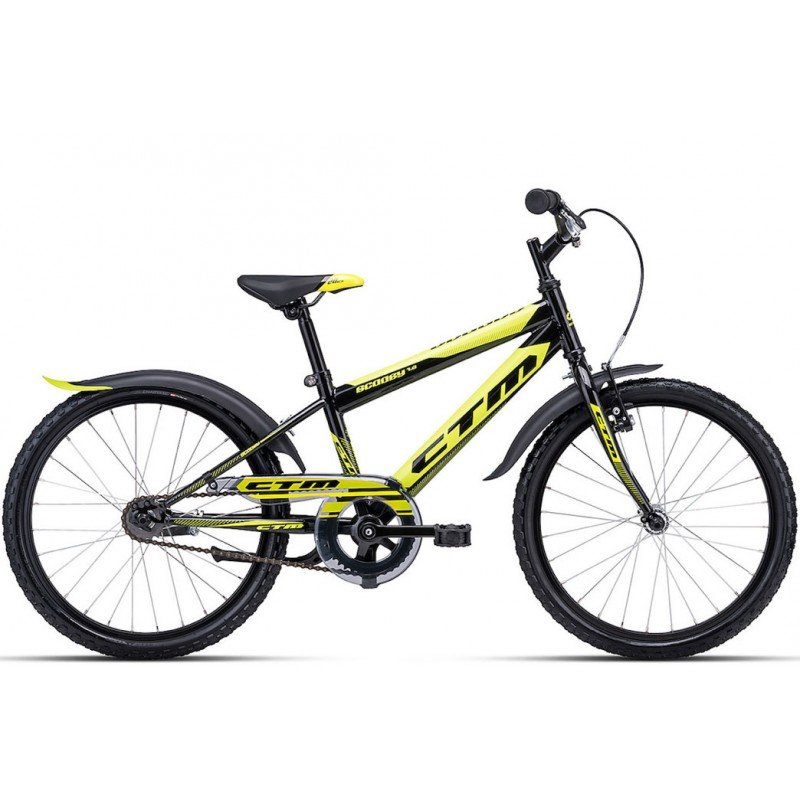 Bērnu divritenis velosipēds CTM Scooby 1.0 20 collas 42.013
