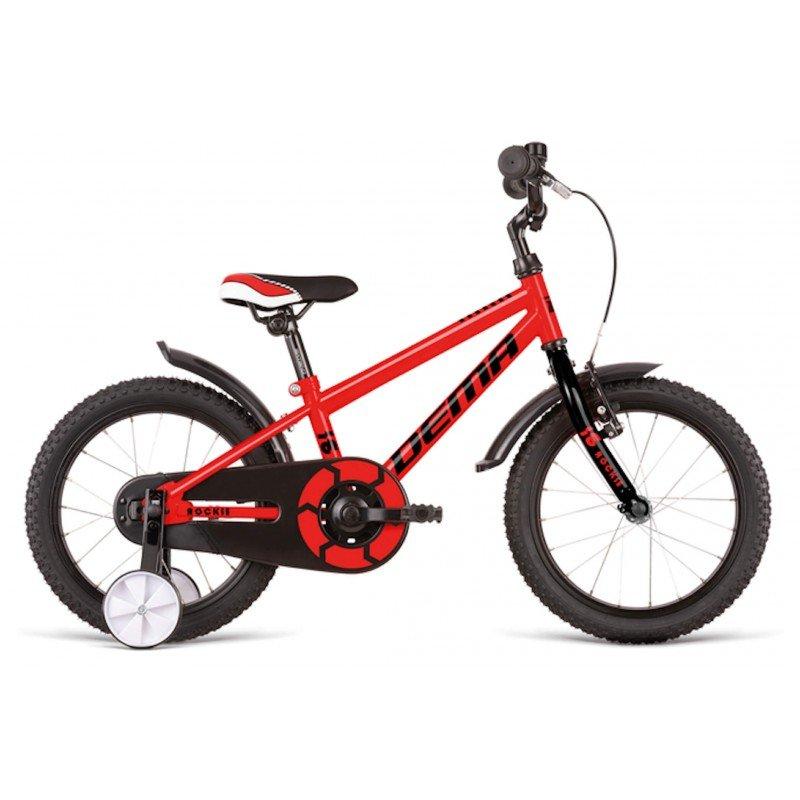 "Bērnu divritenis velosipēds Dema Rockie 16"" Red"