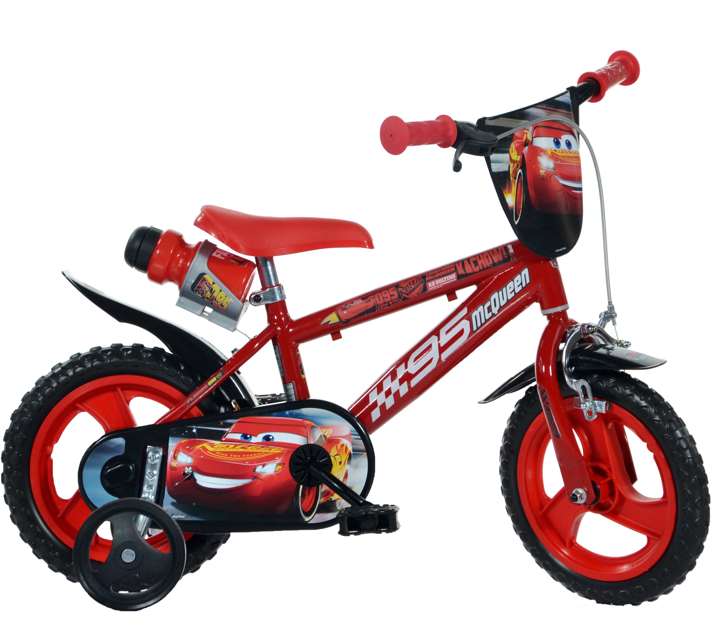 """Bērnu divritenis velosipēds Dino bikes Cars 14"""" 414u-cs3"""